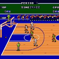 Double Dribble - баскетбол на денди