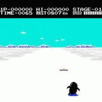 Antarctic Adventure, игра про пингвина на денди