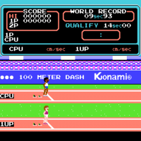 Hyper Olympic, Олимпийские игры на денди
