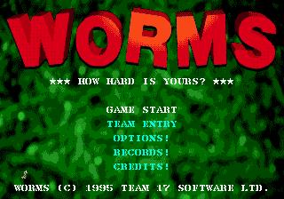 Worms, червячки, черви, червяки