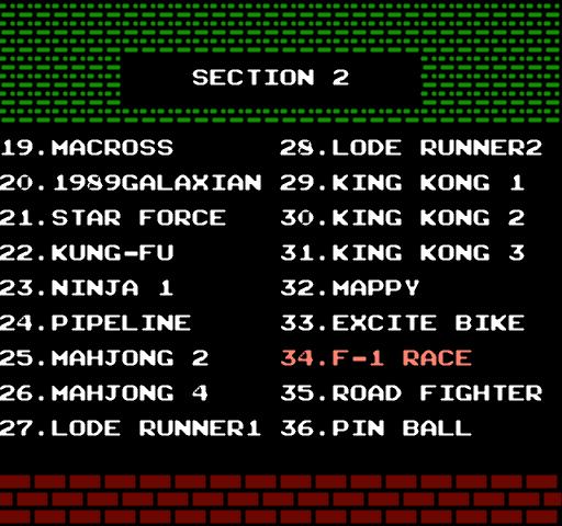 Сборник игр на денди - 52 игры в 1 роме!