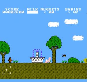 Baby Boomer - игра про малыша на денди