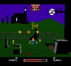 Chiller, игра на кладбище с световым пистолетом