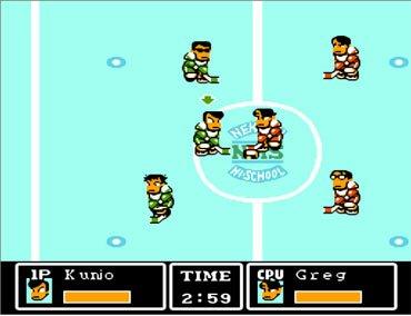 Ike! Ike! Nekketsu Hockey Bu, Хоккей без правил