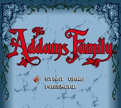 Addams Family, Семейка Аддамсов