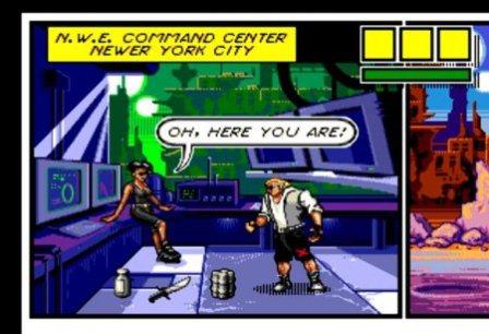 Comix Zone, Зона комиксов