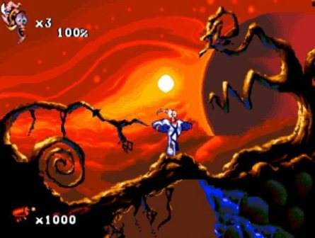Earthworm Jim 2, Земляной червяк Джим 2