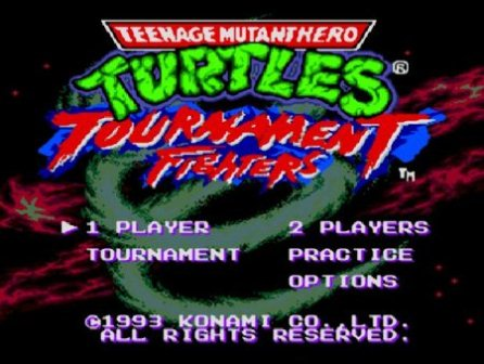 Teenage Mutant Ninja Turtles - Tournament Fighters, Черепашки-ниндзя-турнир бойцов