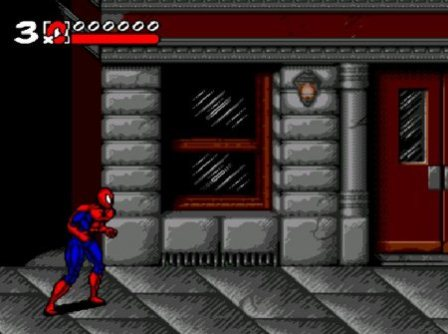 Spider-Man and Venom - Maximum Carnage, Человек паук
