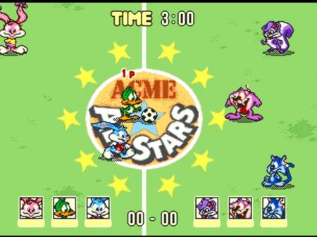 Tiny Toon Adventures - Acme All Stars!, Тинни тун где есть футбол, баскетбол