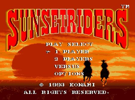SUNSET RIDERS, Игра про Ковбоев, Дикий Запад
