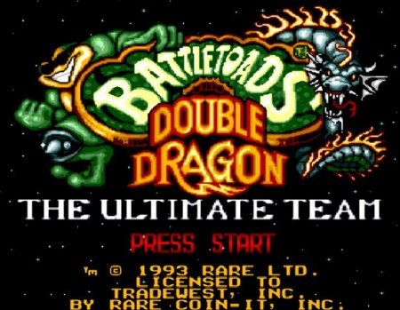 Battletoads and Double Dragon, игра про боевых жаб