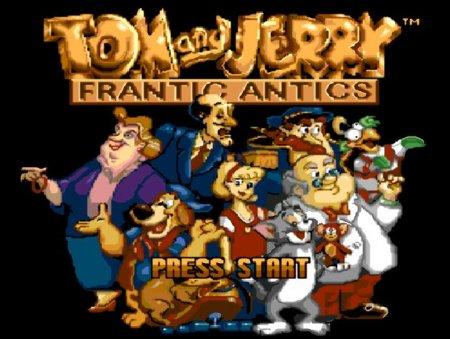 Tom and Jerry - Frantic Antics, Том и Джери