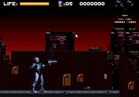 Robocop vs The Terminator, Робокоп против терминатора