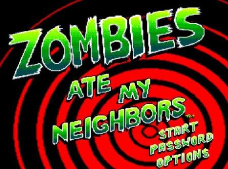 Zombies Ate My Neighbors, Зомби едят моих соседей