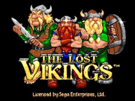 Lost Vikings, Викинги