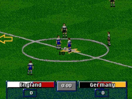 FIFA Soccer 97 Gold Edition, Фифа 97, Футбол на сеге