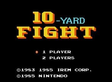 10-Yard Fight, Борьба за 10 ярдов - американский футбол