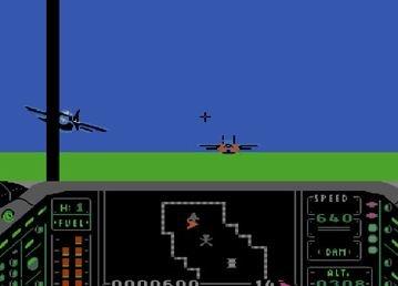 Air Wolf Super, Супер воздушный волк, симулятор реактивного истребителя