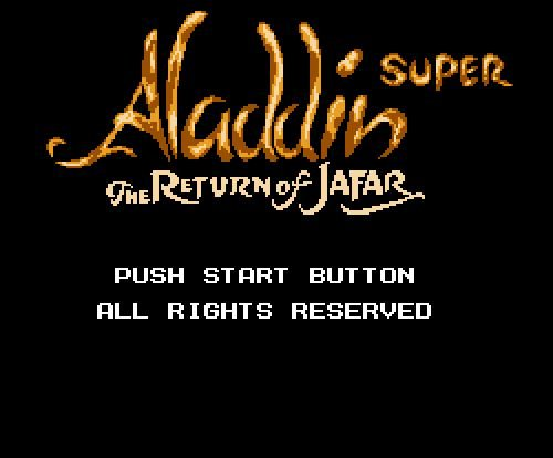 Aladdin Super, Aladdin Return of Jaffar, Аладдин Супер