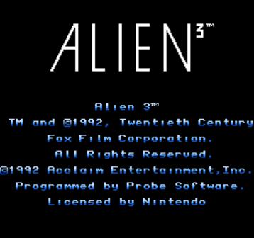 Alien3, Чужой 3