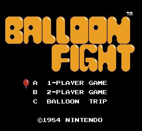 Balloon Fight, Битва шариков