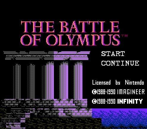 Battle of Olympus, Олимпийская битва