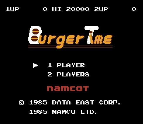 Burger Time, Время перекусить