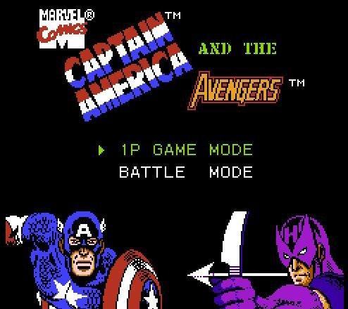 Captain America and the Avengers, Капитан Америка и Мстители