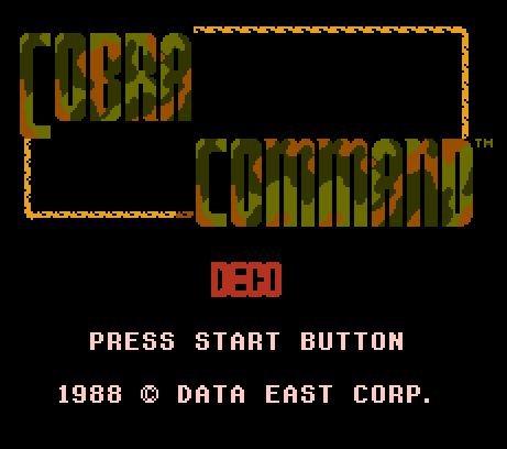 Cobra Command, Команда Кобра