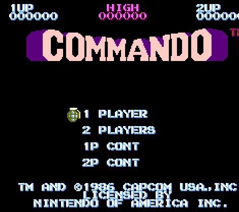 Commando, Коммандос