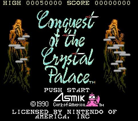 Conquest of the Crystal Palace, Захват Хрустального замка