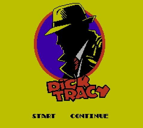 Dick Tracy, Дик Трейси