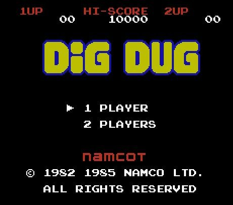 Dig Dug, Диг Даг