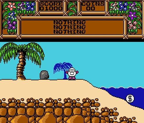 Dizzy Treasure Island, Остров сокровищ Диззи