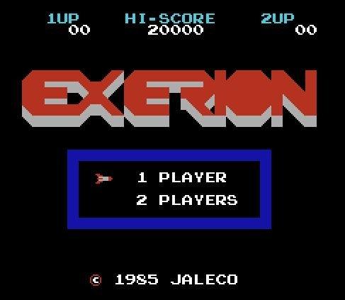Exerion, Экзерион