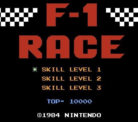 F-1 Race, Гонки Формула 1