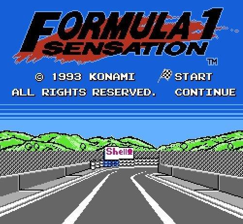 F1-Sensation, Сенсация Формулы 1