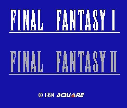 Final Fantasy 1, Последняя фантазия 1