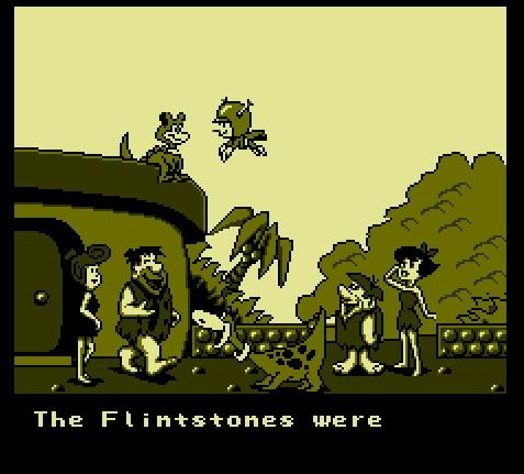Flintstones, The - The Rescue of Dino & Hoppy, Флинстоуны