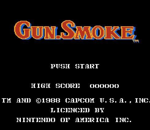 Gun Smoke, Дымящийся пистолет, Игра про ковбоя