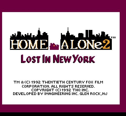 Home Alone 2: Lost in New York, Один дома 2