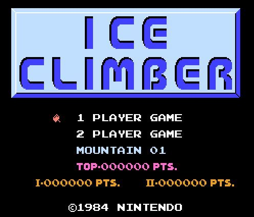 Ice Climber, Альпинист