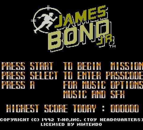 James Bond, JR., Джеймс Бонд, агент 007