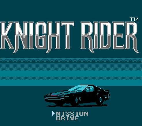 Knight Rider, гонщик-рыцарь
