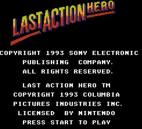 Last Action Hero, Последний герой боевика