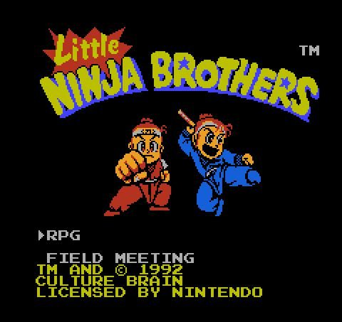 Little Ninja Bros, Маленькие братья-ниндзя