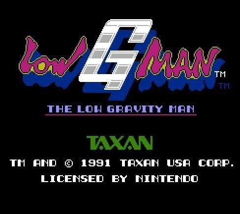 Low g Man, Невесомый человек