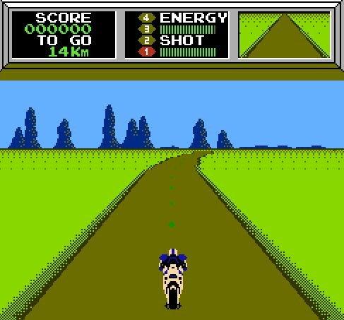 Mach Rider, Мотогонщик