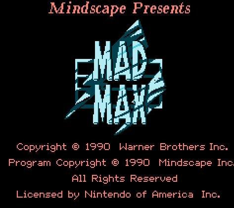 Mad Max, безумный Макс